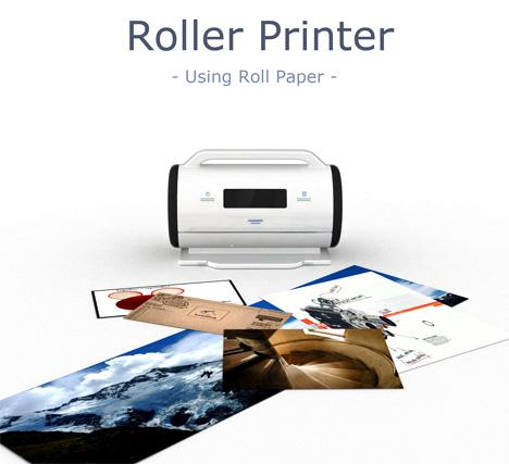 Roller Paper Printer