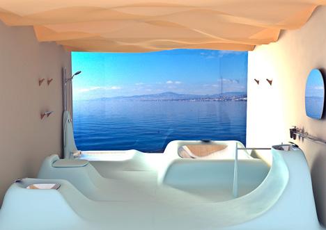 ideas for this futuristic interior vodafone office design architecture