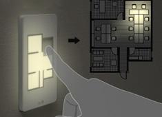 Lighting yanko design 33 - Floor plan light switch ...